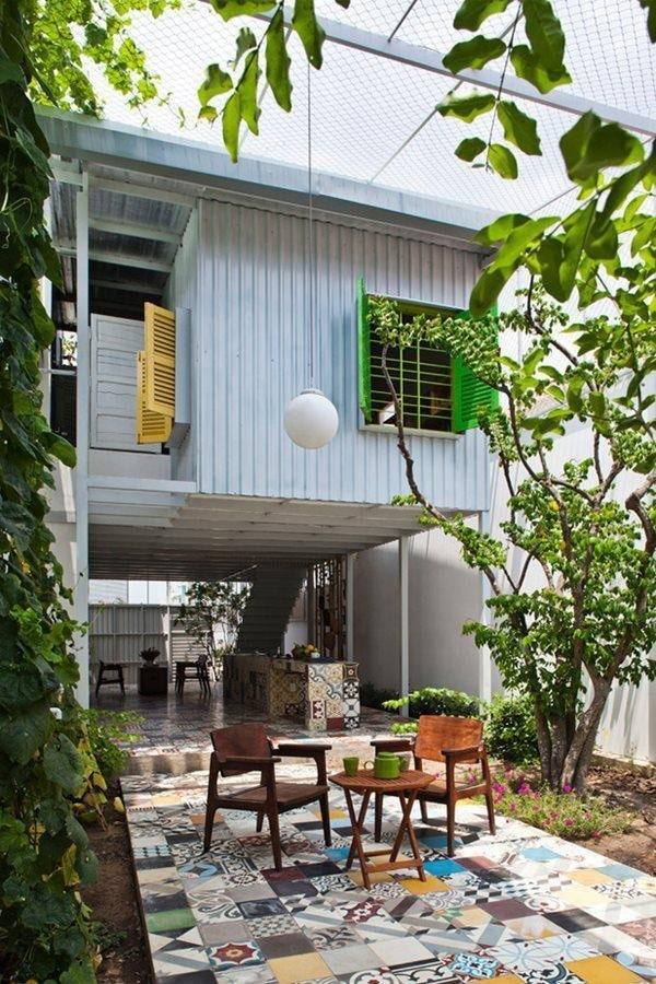 Mẫu nhà phố đẹp tại Thuận An, Bình Dương có thiết kế siêu tiết kiệm