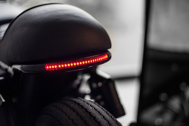 LED tailight motor custom caferacer