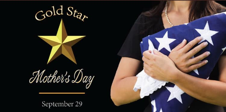 Gold Star Mother's and Family Day Wishes Beautiful Image