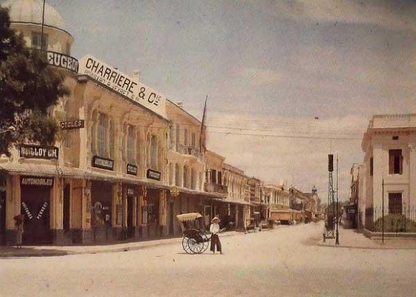 Hà Nội xưa - phố Tràng Tiền