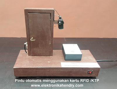 pintu otomatis kartu RFID