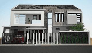 pagar tembok rumah minimalis type 36, pagar tembok rumah mungil, pagar tembok rumah minimalis terbaru