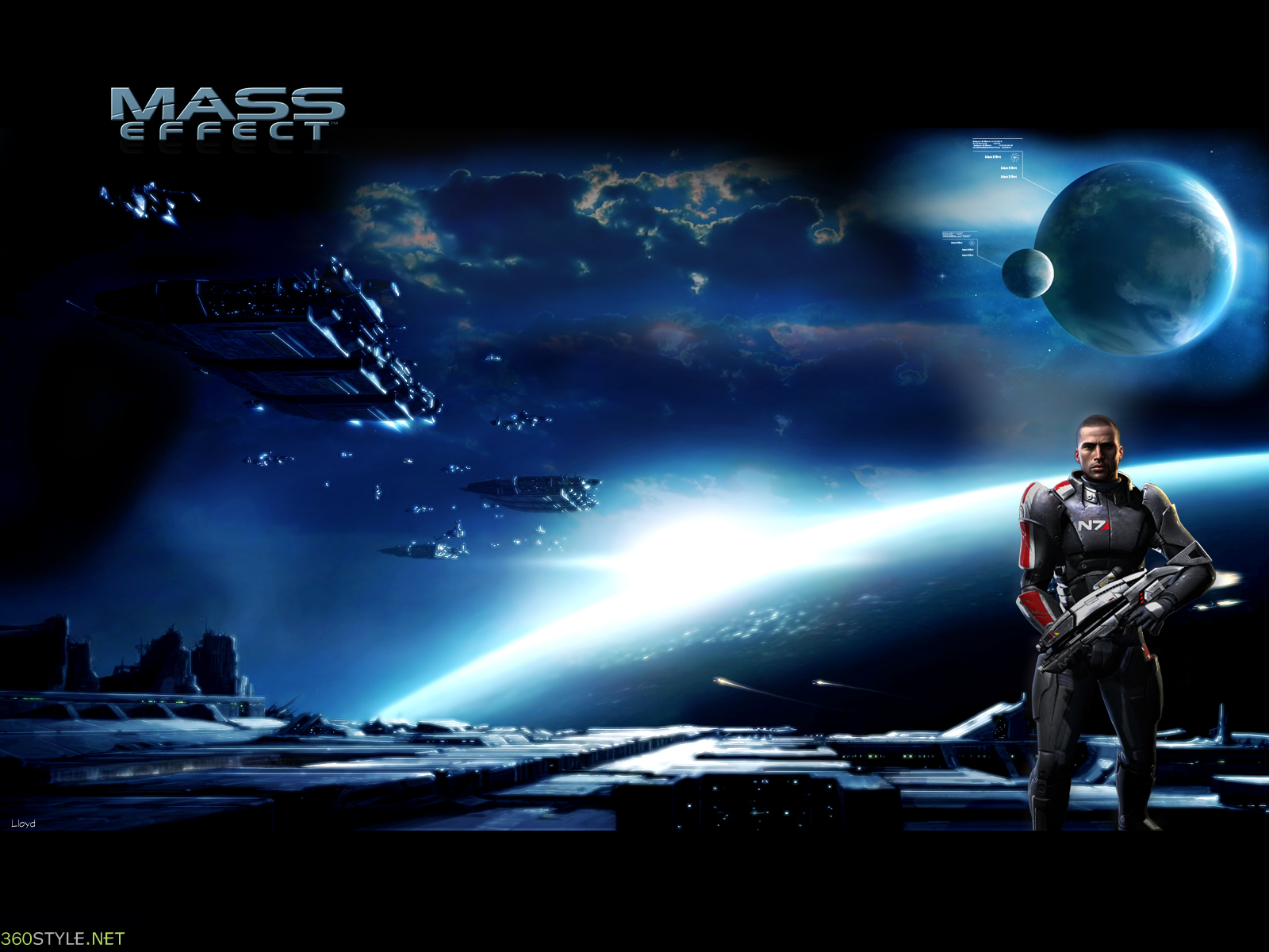 Mass Effect Game Wallpaper 2 | Top Quality Wallpapers