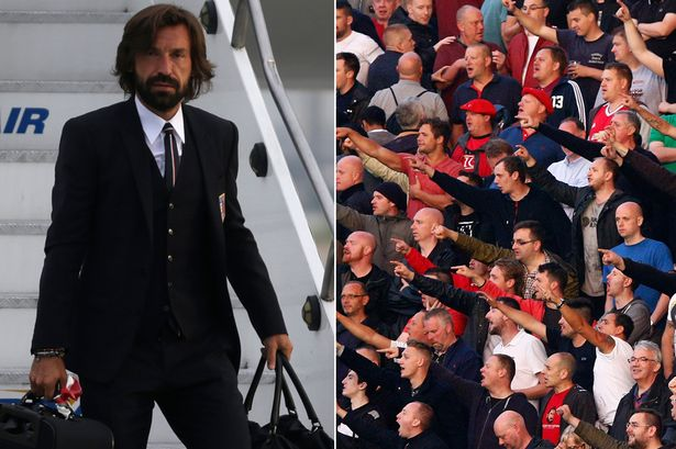 Pirlo might have riled the United faithful here