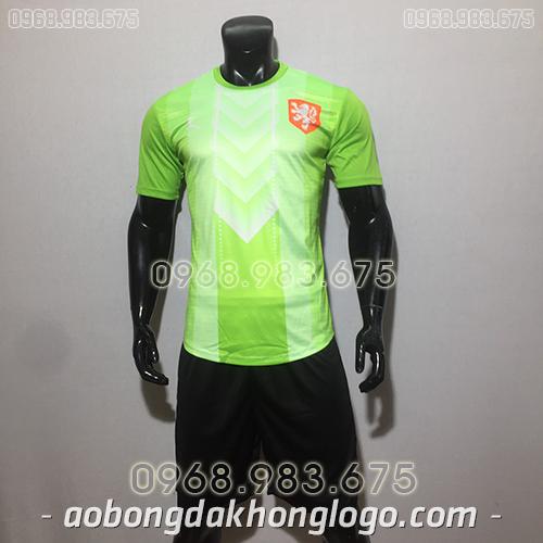 Áo đội tuyển Hà Lan training màu xanh 2020