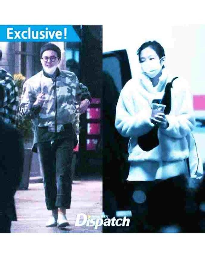 Jennie BLACKPINK & G- Dragon BIG BANG Tertangkap Kencan Agensi Beri Pernyataan