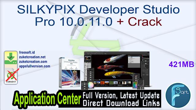 SILKYPIX Developer Studio Pro 10.0.11.0 + Crack