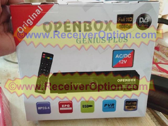 OPENBOX GENIUS PLUS HD RECEIVER GODA OPTION NEW SOFTWARE