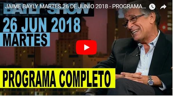 Jaime Bayly asegura que Estados Unidos dejará de comprar petróleo a Venezuela