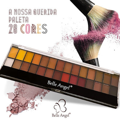 Paleta 28 Cores Belle Angel