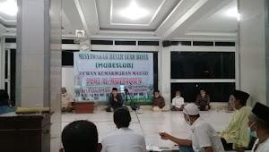 Pengurus DKM AL Mutaqien Diaanggap Ilegal, Tokoh Masyarakat Beserta Ulama  Kyai dan Ustad Adakan MUBESLUB