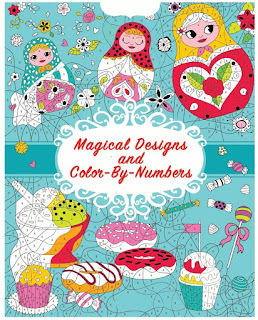 Cool & Calm Coloring for Kids: Magical Designs and Color-by-Numbers