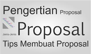 Pengertian Proposal Menurut Para Ahli