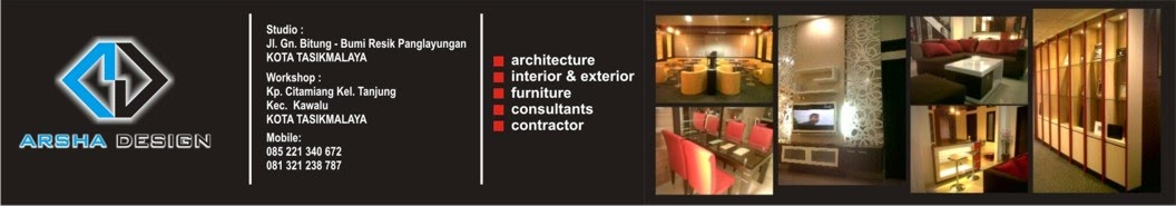 Arsha Design Interior Exterior Furniture Tasikmalaya