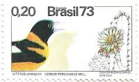 Selo Corrupião e as flores do mandacaru