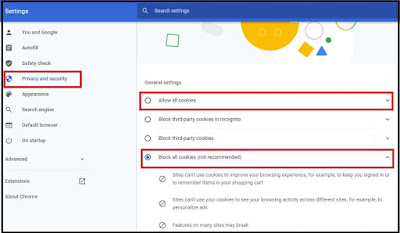 how to enable cookie on chrome