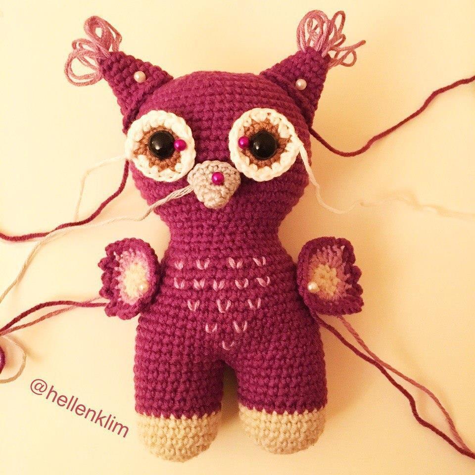 Crochet owl amigurumi tutorial