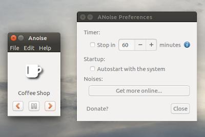 Ambient Noise GUI