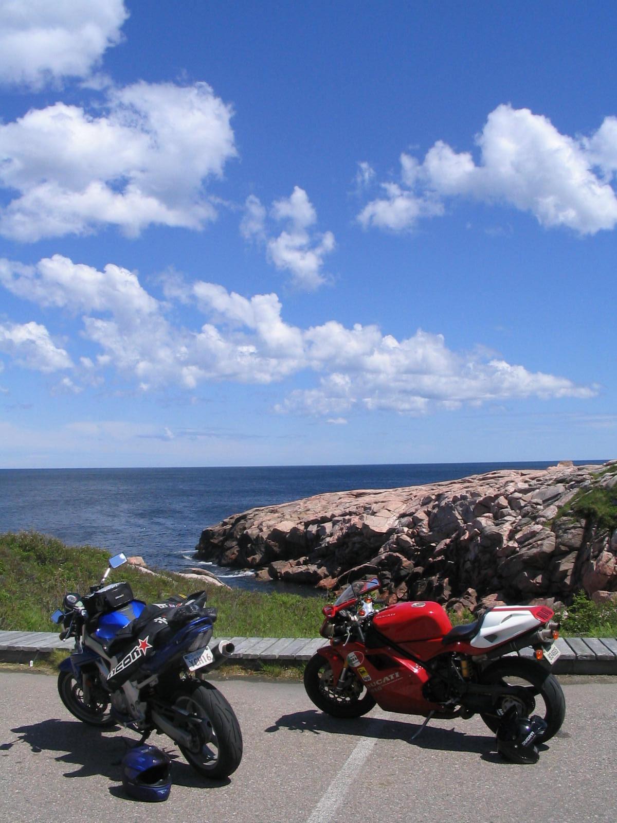 Ducati 916 Cabot Trail