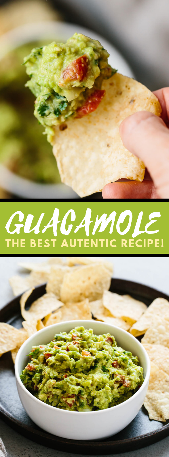BEST EVER GUACAMOLE #vegetarian #paleo