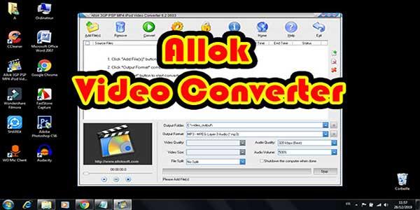 allok-converter تحويل كل صيغ الفيديو وبه خصائص اخرى لاتعرفها