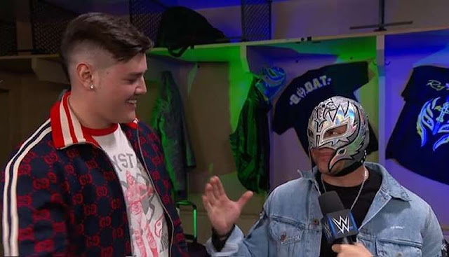 The Legend Rey Mysterio will appear with his son next RAW