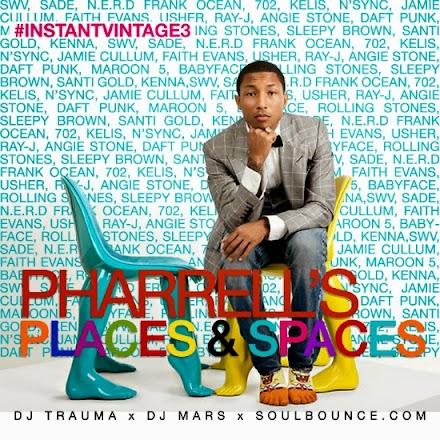 Pharrell Williams Mixtape von DJ Trauma und DJ Mars | #InstantVintage3 - Pharrell's Places & Spaces