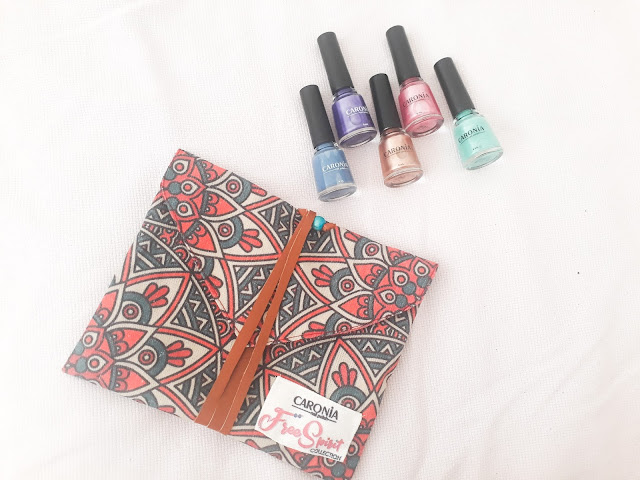 Get Artsy Nails with Caronia PH Free Spirit Collection