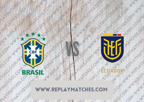 Brazil vs Ecuador -Highlights 27 June 2021