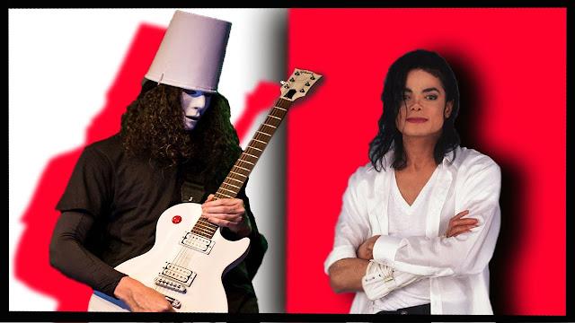 Michael Jackson and Buckethead. PunkMetalRap.com