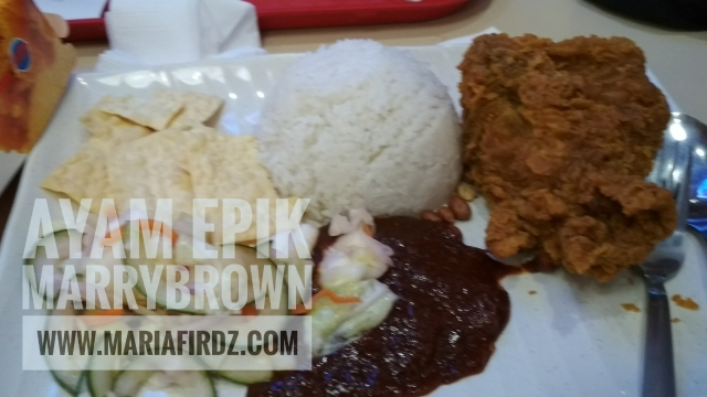 Nasi lemak Marrybrown