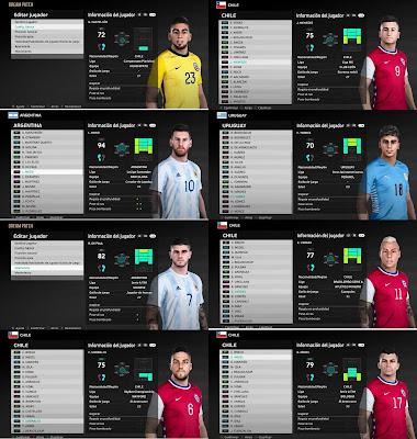 PES 2021 Facepack 2 CONMEBOL by AXL