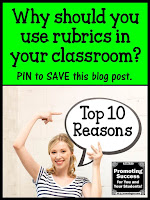 rubrics in the classroom