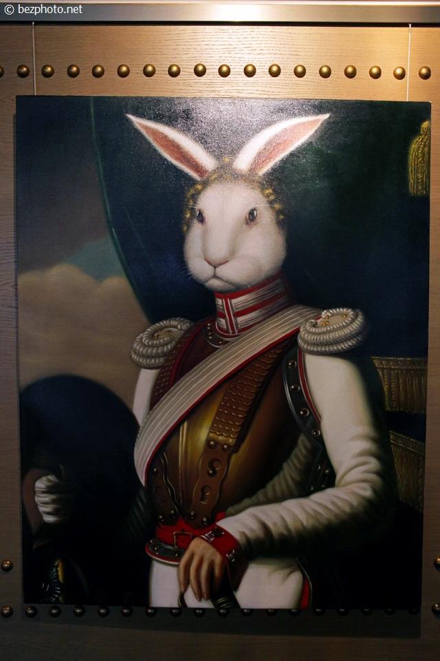 белый кролик ресторан фото