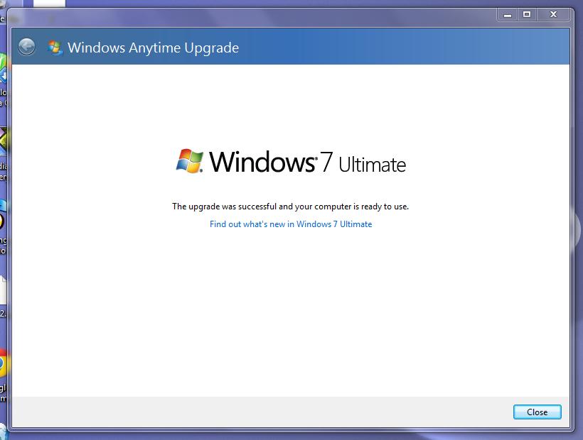 Microsoft windows 7 anytime upgrade key