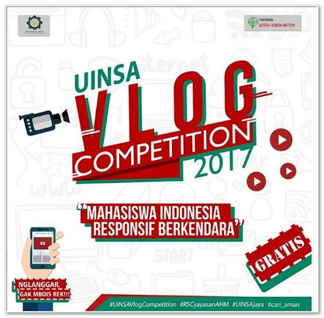 Apa itu UINSA Vlog Competition?