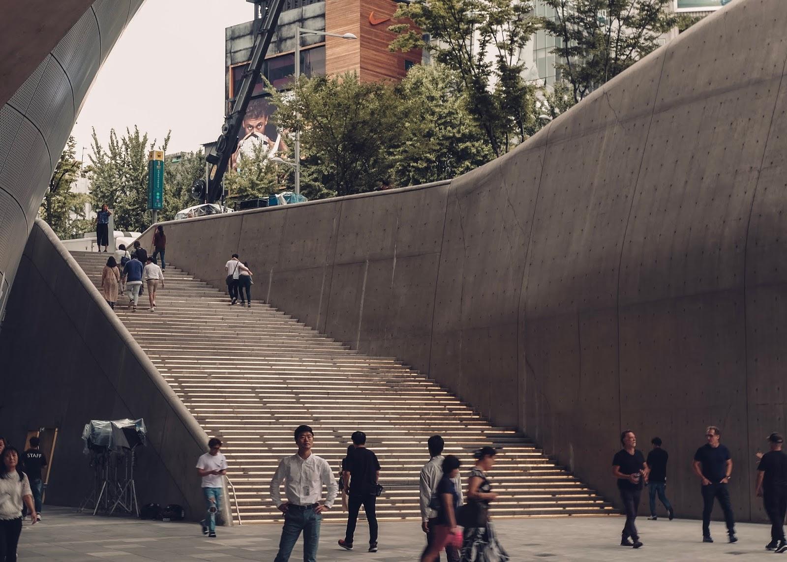 Dongadaemun Plaza Seoul Korea Curitan Aqalili