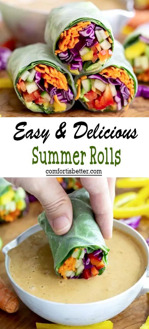 Easy & Delicious Summer Rolls