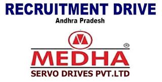 MEDHA Servo Drives Pvt Ltd - Rail Coach factory Recruitment ITI, Diploma and B.Tech Experienced Candidates    Apply Now