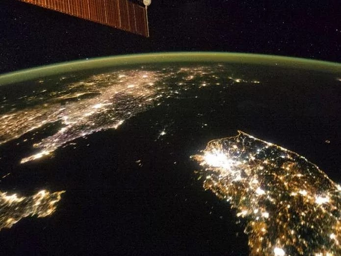 Black-out in North Korea