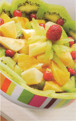 Reţetă culinară: Salată de fructe