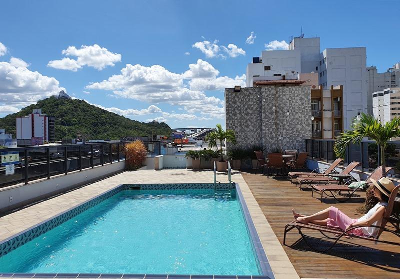 Hotel na Praia da Costa: Champagnat Praia Hotel