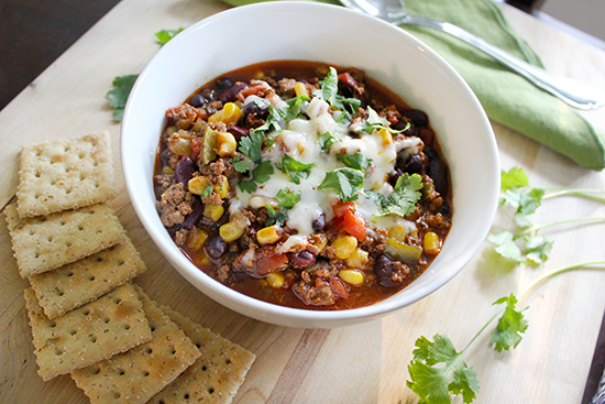 Southern Mom Loves Crockpot Southwest Chili Recipe
