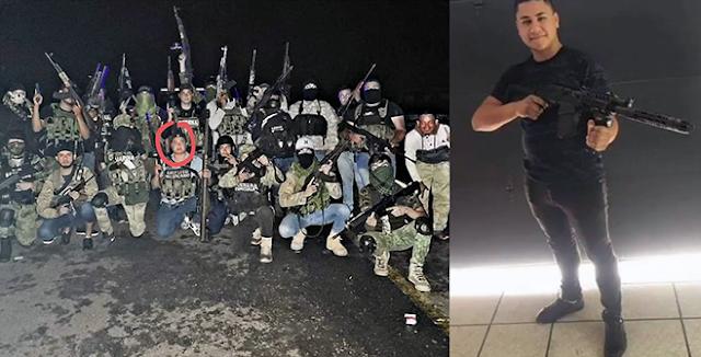 """Video y fotos: Exhiben en redes a """"Pablito Terror"""" sicario de Cárteles Unidos dicen que traga lumbre y masca fierro"""
