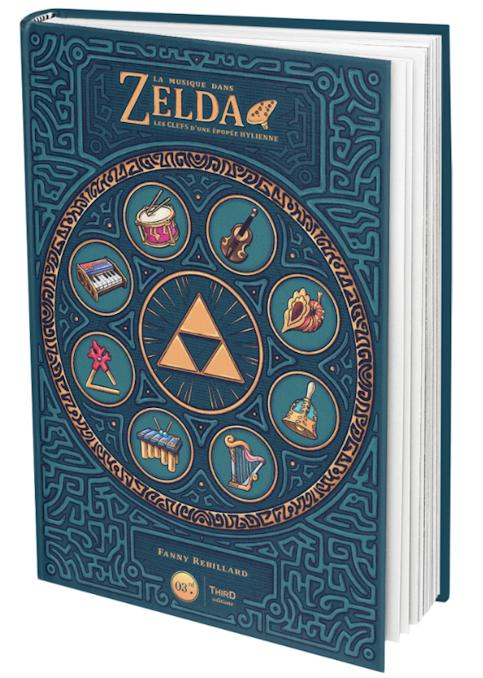 Le livre La Musique dans Zelda : Les clefs d'une épopée hylienne  vient de sortir