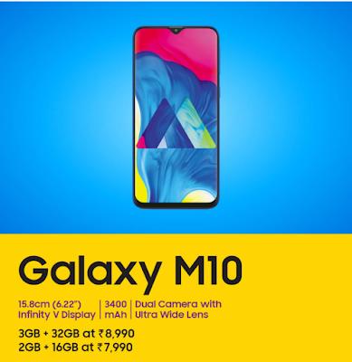 Samsung Galaxy M10 Phone