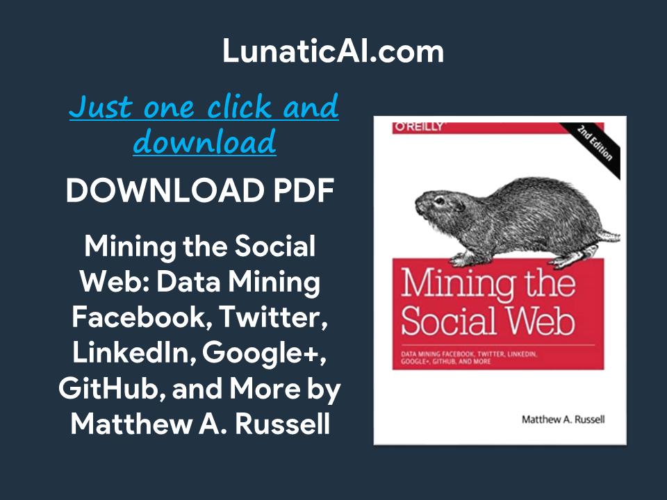 mining the social web pdf
