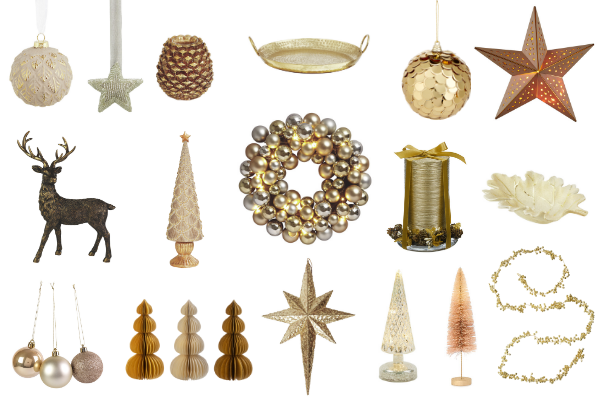 Budget cheap Christmas decorations for the Christmas season 2019 all for under £20. Something for all themes and colours, from white, gold, silver, red, black and multi coloured. Update your home with christmas decorations and interiors