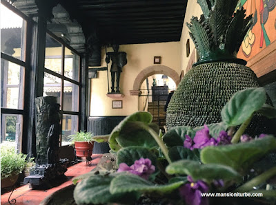 Mexican Decorations at Hotel Mansion Iturbe in Patzcuaro