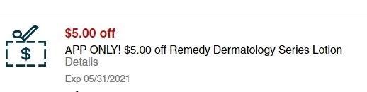 USE $5.00/1 Remedy Dermatology CVS crt Coupon (Select CVS Couponers)